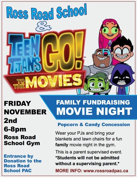 Movie Night Nov 2
