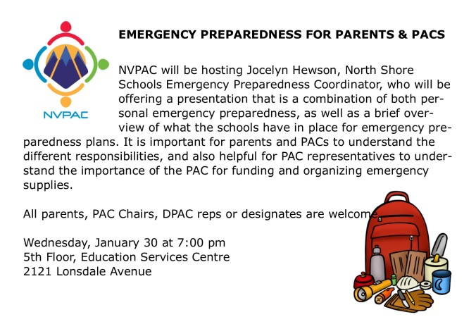 2019 01 30 emergency preparedness for parents & pacs (1)