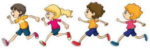run clipart