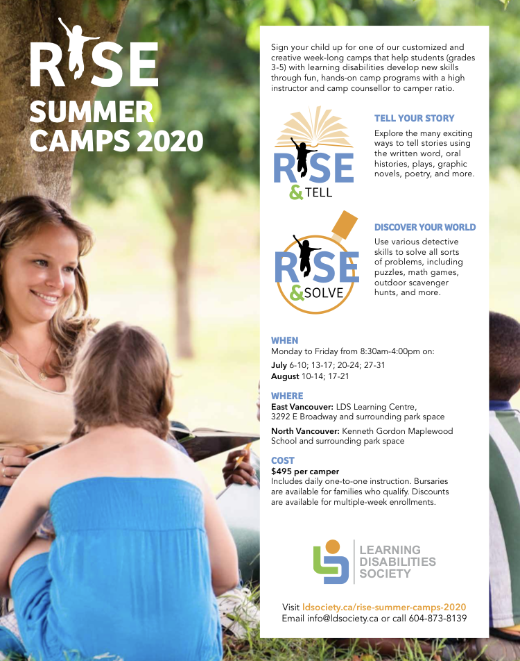 Fwd Camp for children with learning disabilities in North Vancouver